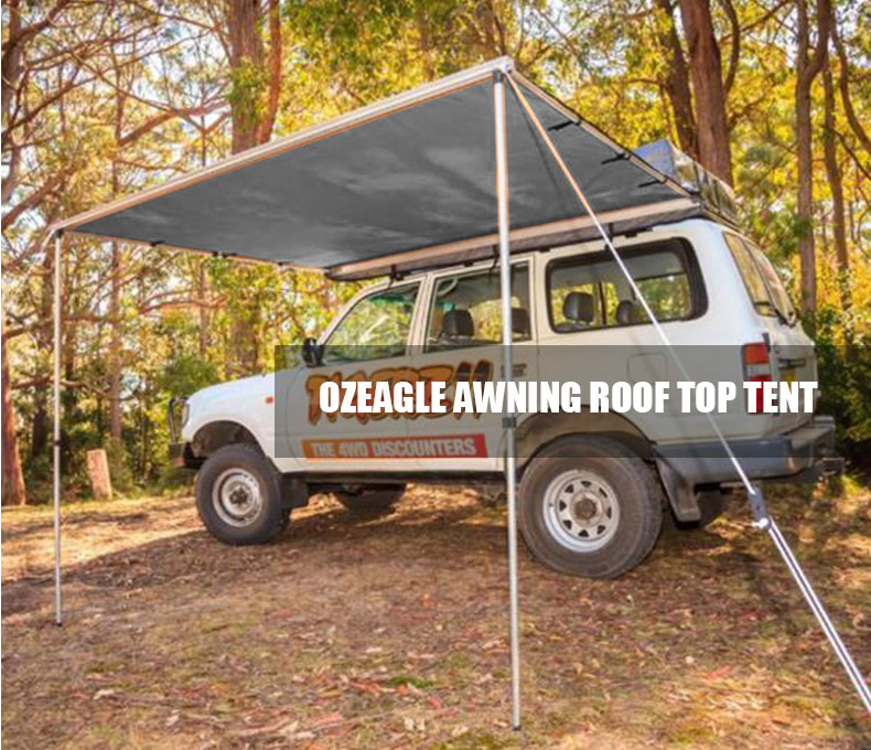 & TENTS :: OzEagle Car Side Awning 2.5M x 3M